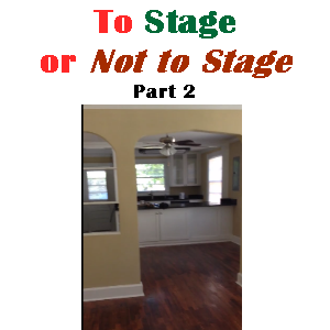 To Stage or Not to Stage