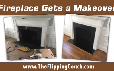 Fireplace Gets a Makeover