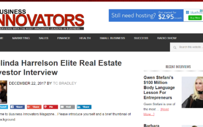 Elite Real Estate Investor Interview with Delinda Harreleson