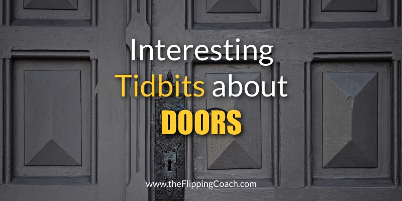 Interesting Tidbits About Doors